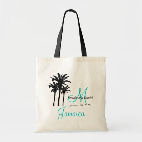 personalized beach wedding tote bags zazzle com