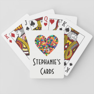 Personalized Bead Lover Playing Cards