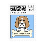 Personalized Beagle Postage