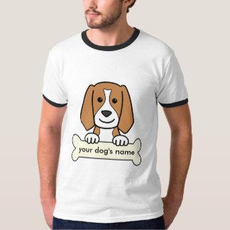 Personalized Beagle T-Shirt