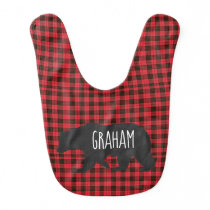personalized bear bib