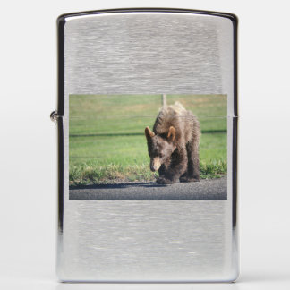 Personalized Bear Zippo Lighter