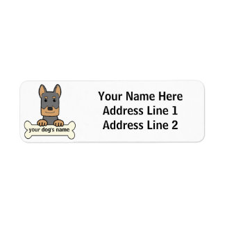 Personalized Beauceron Label