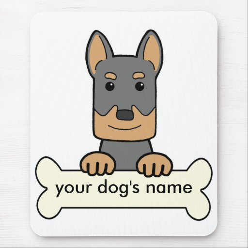 Personalized Beauceron Mouse Pad
