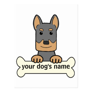 Personalized Beauceron Postcard