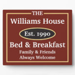 bed, breakfast, sign, welcome, visitors, guests,