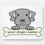 Personalized Bedlington Terrier Mouse Pad