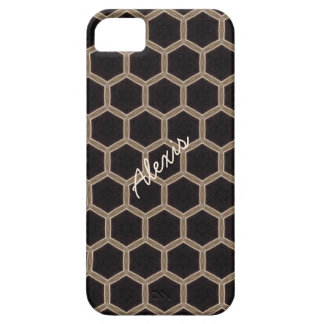 Personalized Beehive Pattern Phone Case