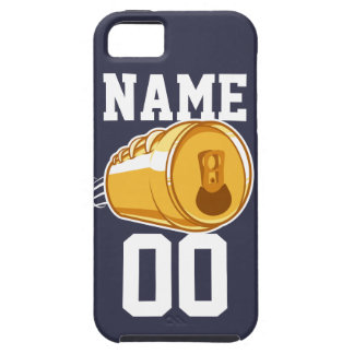 Personalized Beer & Football iPhone SE/5/5s Case