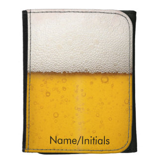 Personalized Beer Glass Wallet