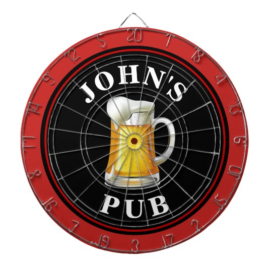 Personalized Beer Pub Dart Board