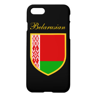 Personalized Belarus Flag iPhone 7 Case