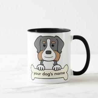 Personalized Bernese Mountain Dog Mug