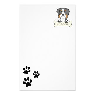 Personalized Bernese Mountain Dog Stationery