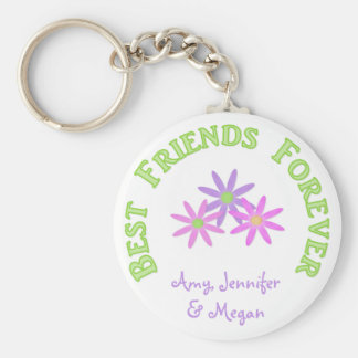 Personalized Best Friends Forever Keychain