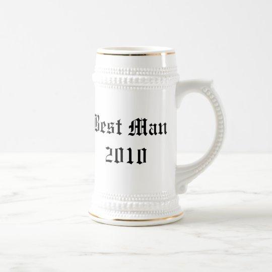 Personalized best man Wedding favor stein