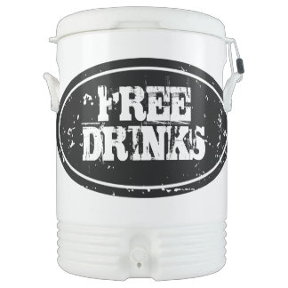 Personalized beverage cooler | Large 10 gallon