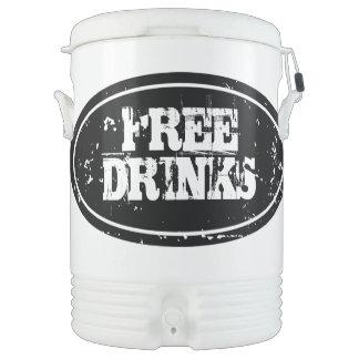 Personalized beverage cooler | Large 10 gallon Igloo Beverage Dispenser