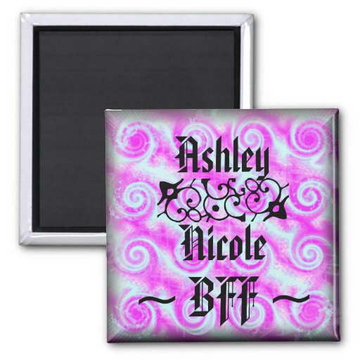 Personalized BFF Magnet