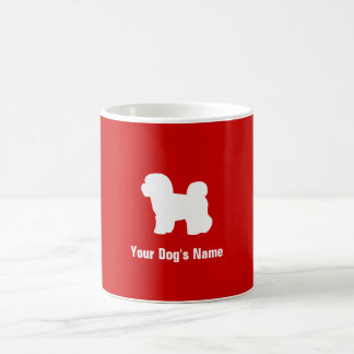 Personalized Bichon Frise ビション・フリーゼ Coffee Mug