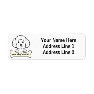 Personalized Bichon Frise Label