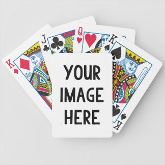 Personalized Bicycle Playing Cards