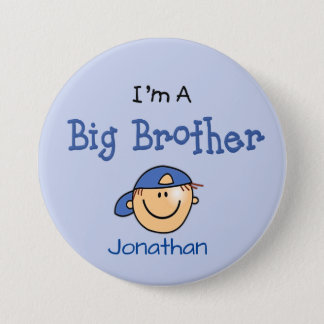 Personalized Big Brother Button