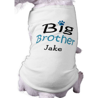 Personalized Big Brother Pet Shirt