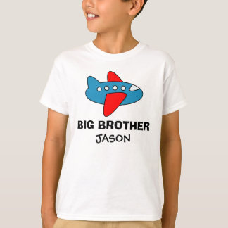 Personalized big brother t shirt for boys