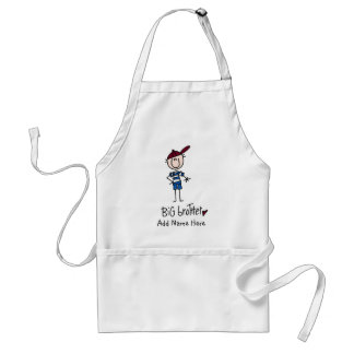 Personalized Big Brother Tshirts and Gifts Adult Apron