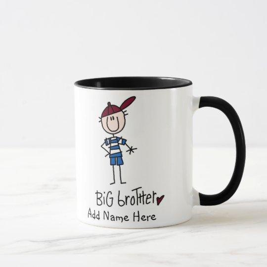 Personalized Big Brother Tshirts and Gifts Mug
