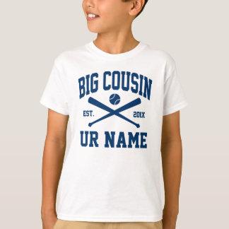 personalized big cousin baseball T-Shirt