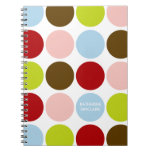 Personalized Big Mod Dots Journal / Notebook