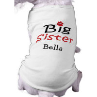 Personalized Big Sister Pet Shirt