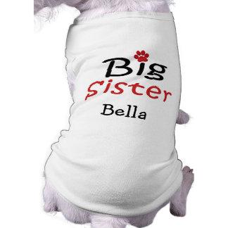 Personalized Big Sister Pet Shirt
