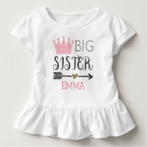 Personalized Big Sister Shirt