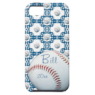 Personalized Bill Baseball Motif Iphone 5 Cover