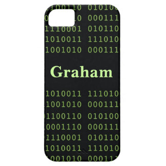 Personalized Binary Code iPhone 5 Case
