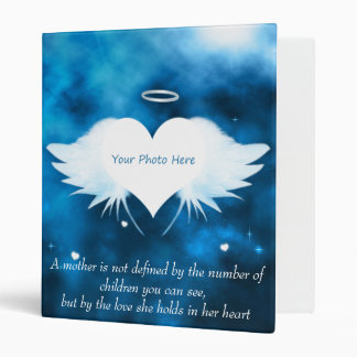 Personalized Binder/Photo Album-Angel of the Heart
