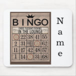 Personalized Bingo Mouse Pad