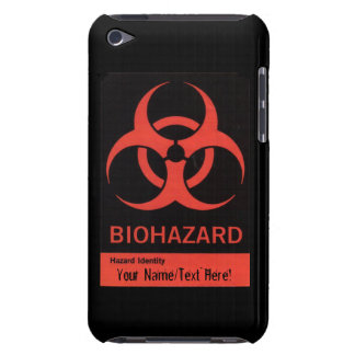 Personalized BioHazard Warning iPod Case iPod Touch Cases