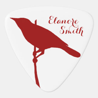 Personalized Bird Triangle Pick