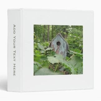 Personalized Birdhouse Binder