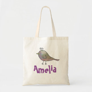 Personalized Birdy Tote