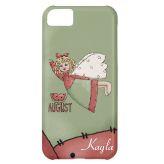 Personalized Birth Month August  Iphone 5 case