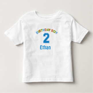 Personalized Birthday Boy (2 years old) Shirt
