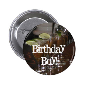Personalized Birthday Boy or Girl Pins Buttons