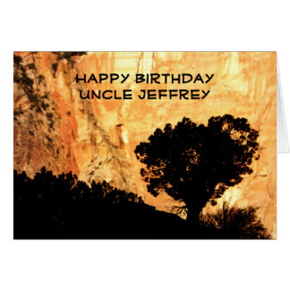 Personalized Birthday Greeting Card, Uncle Card