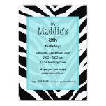 """Personalized Birthday Invitation 5"""" X 7"""" Invitation Card"""