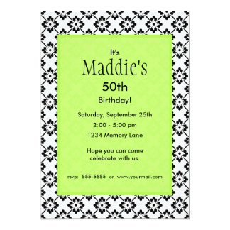 Personalized Birthday Invitation